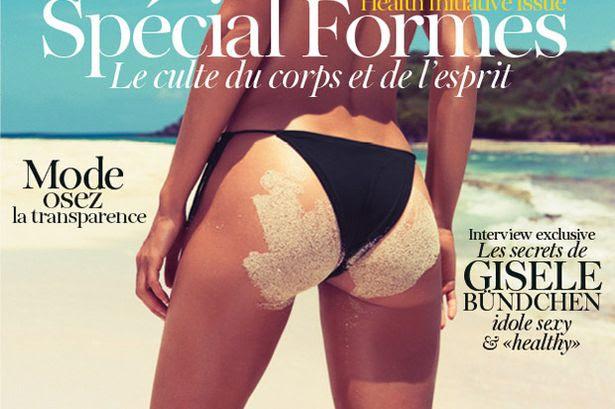 Κάτω μέρος του Bundchen, en επίσημα (και) Vogue