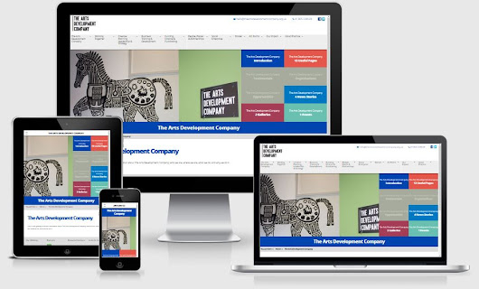 New Website for The Arts Development Company