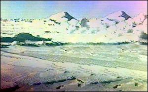 Arctic mountains BBC