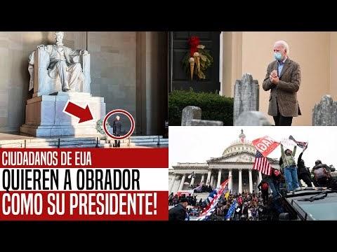 NO VAS A CREER ESTO! CIUDADANOS DE EUA QUIEREN A AMLO COMO SU PRESIDENTE...