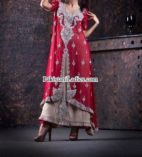 Open Shirt Designs 2017 with Sharara for Bridal Wedding