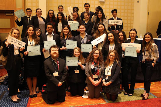 Pace Students Excel at 2017 Washington DC Model UN Conference