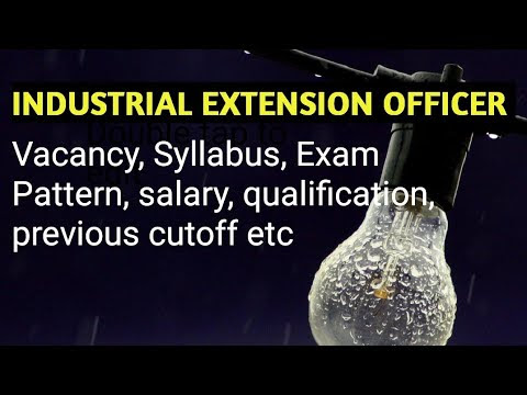 Industrial Extension Officer Kerala PSc Coaching Part 1