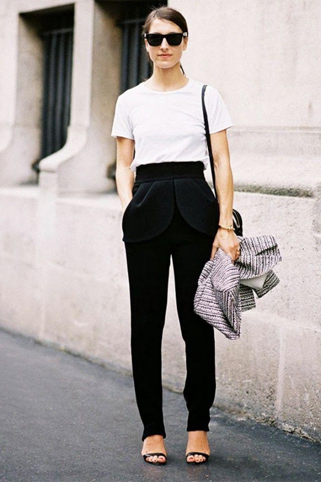 how to wear black pants 2020  fashiontasty