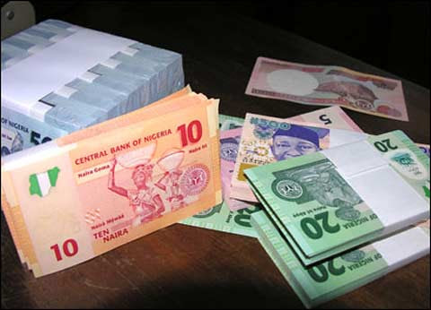 The national currency of Nigeria, the naira, is under tremendous pressure amid the crisis in the financial sector after the sacking of key bank executives and the suspension of trading in their shares. by Pan-African News Wire File Photos