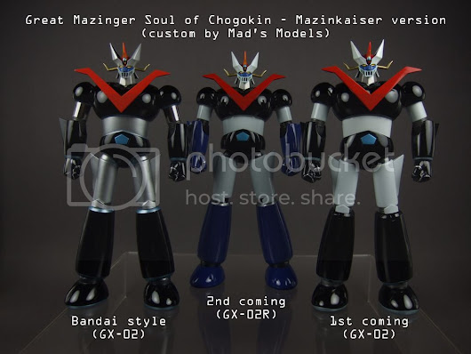 GREAT MAZINGER - MZK ver [GX-02/R Custom] マジンカイザ