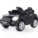 Gymax 6V Kids Ride On Car RC Remote Control Battery Powered w/ LED Lights MP3 Black