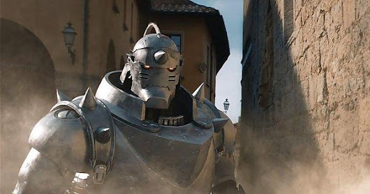 First picture of Alphonse from the Full Metal Alchemist movie.