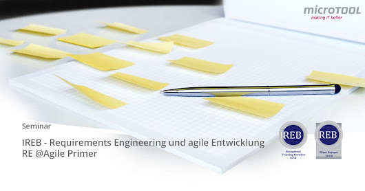 IREB – RE@Agile Primer Kurs – Agiles Requirements Engineering