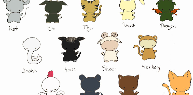 Fruits Basket Characters Zodiac Animals