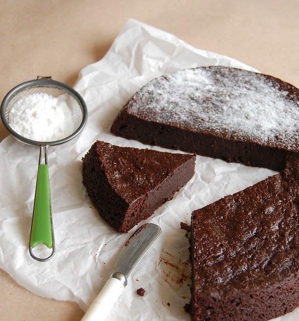 Chocolate Marmalade Slump Cake