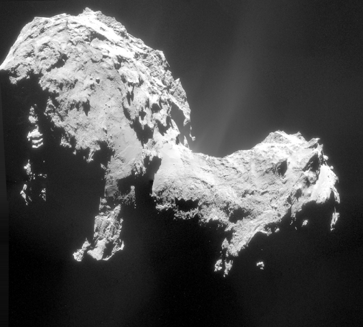 More jets from Rosetta's comet! | The Planetary Society