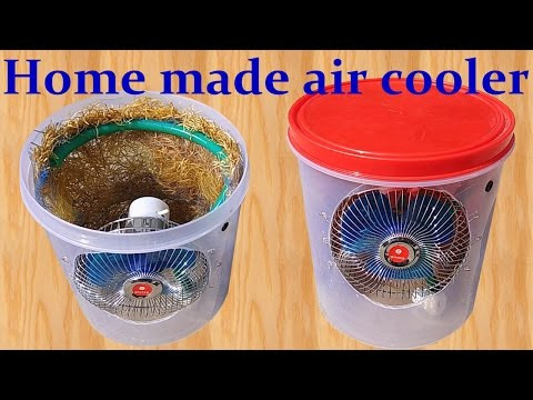 How to make Air Cooler at Home - DIY Engineering