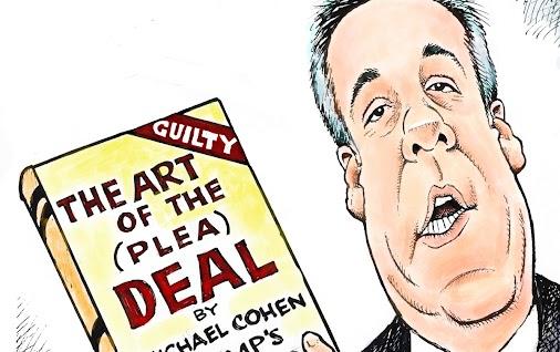 Michael Cohen cartoon by Dave Granlund #MichealCohen #DaveGranlund http://ow.ly/VvHh30lvd32