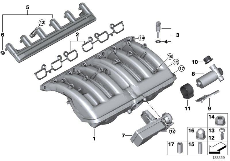Intake Manifold And Vacuum Caps Bmw E46 Fanatics Forum