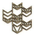 Chevron Panel LARGE - Click Image to Close