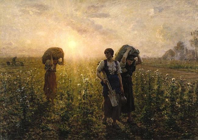 File: Brooklyn Museum - Fin du travail (O fim do dia de trabalho) - Jules Breton.jpg