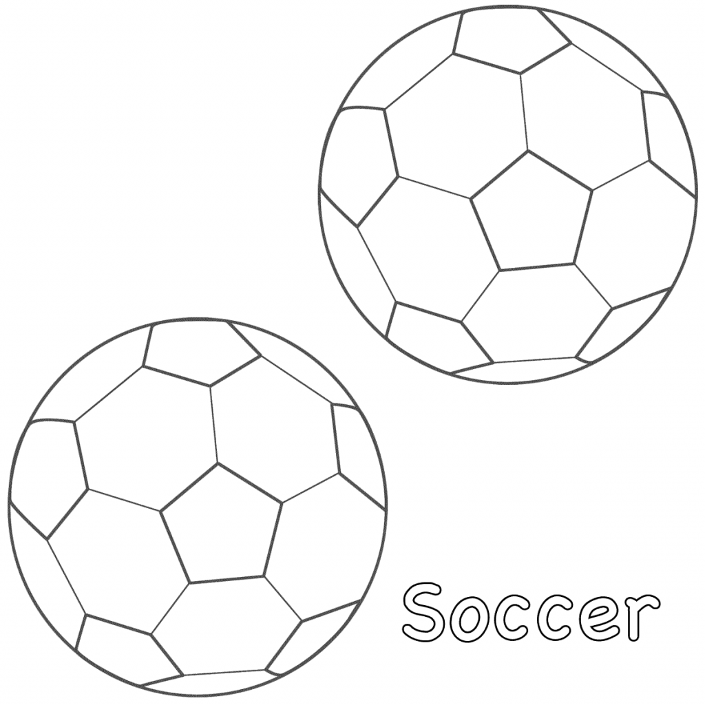 7800 Free Coloring Pages Soccer Ball Pictures