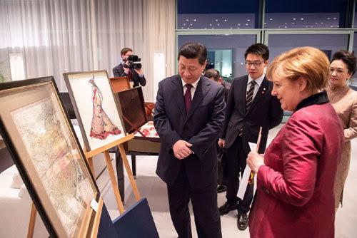 Trung Quốc, Tập Cận Bình, Đức, Hoàng Sa, Trường Sa, Angela Merkel