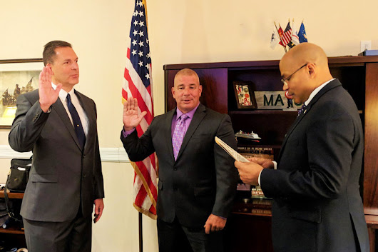 Soriano swears in Class III officers | Parsippany Focus