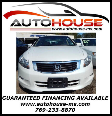 Used 2009 Honda Accord EXL for Sale in Florence MS 39073 Autohouse