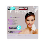 Kirkland Signature Micellar Daily Facial Cleansing Towelettes - 180-Count