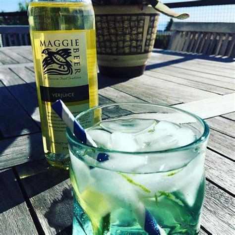 maggiebeer verjuice ontherocks  booze eleven days