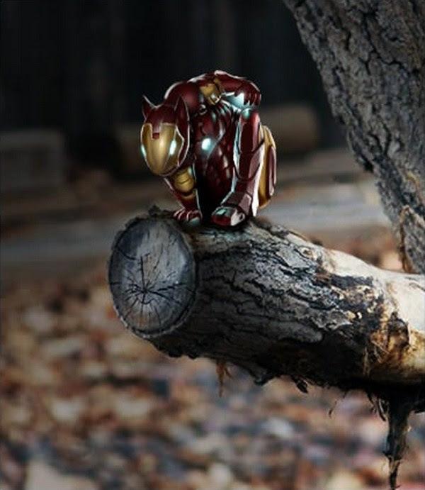 Ardilla Iron Man