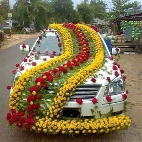 Car decor for Marriage Ceremony in Pakistan   Pakistan in