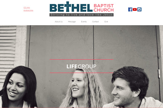Congrats Bethel Baptist Church, Prospect, NY – Best Church Websites Award Winner! - Best Church Websites of 2018