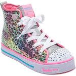 Girls' Skechers Twinkle Lite Leopard