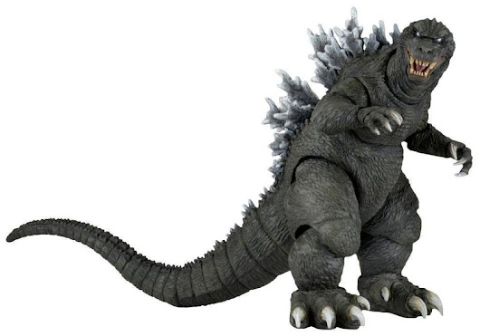 Godzilla – 12″ Head-to-Tail Action Figure – 2001 Godzilla - 42878 NECA