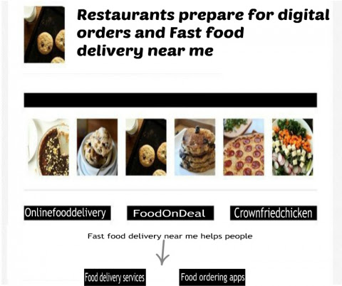 Fast Food Delivery Near Me Is A Good Thing As It Provides Delicious Food. | FoodOnDeal