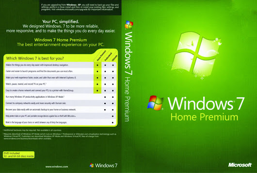Windows 7 Home Premium Free Download Full Version ISO