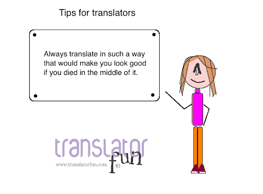 Best practices for translators