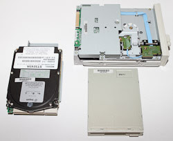 Disc Drives found inside this Computer.