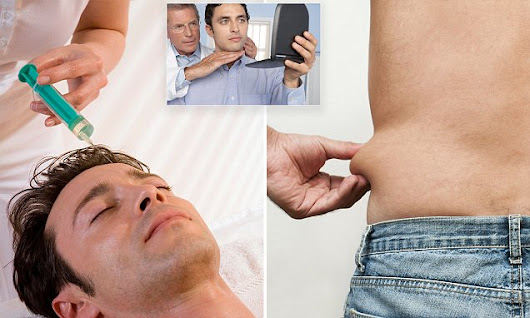Botox, liposuction and rhinoplasty: Surge in men going under the knife