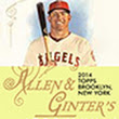 2014 Topps Allen & Ginter Baseball Checklist, Set Info, Boxes