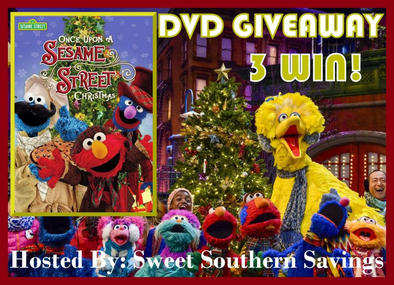 Sesame Street Once Upon a Sesame Street Christmas DVD Giveaway. Ends 10/25