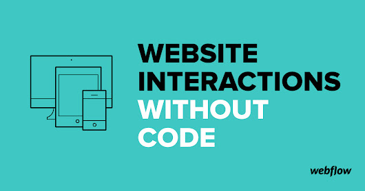 Website Interactions Without Code
