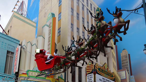 Disneyland Resort, Disney California Adventure, Hollywoodland, Christmas, Christmas Time