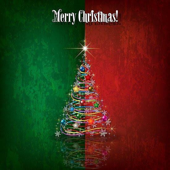 Merry Christmas - Tree Design 01