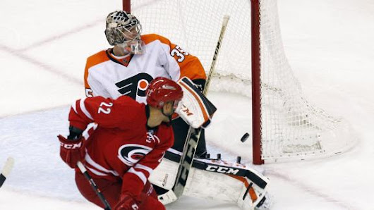 Malhotra's OT goal lifts Hurricanes over Flyers