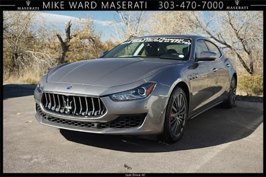 2018 Maserati Ghibli S Q4 AWD luxury sedan discounted near Denver