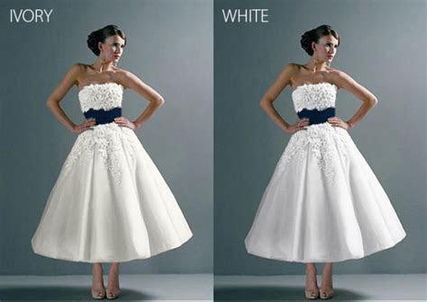 White or Ivory? UGH DECISIONS!!   Weddingbee