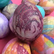 How To Silk Dye Easter Eggs - DIY Projects - Step-by-Step Instructions for Silk Dyed Eggs