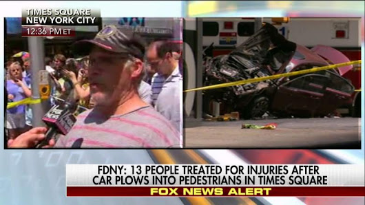 WATCH: Witnesses Describe Vehicle Striking Pedestrians in Times Square