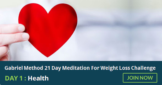 21 Day Meditation For Weight Loss