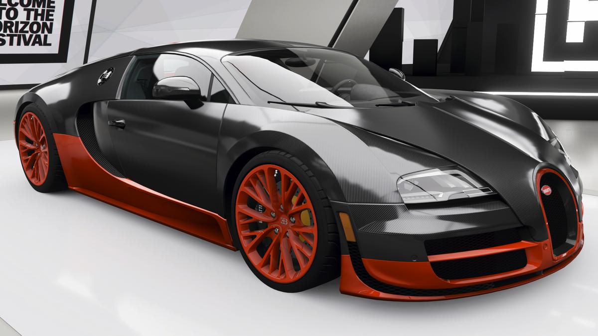 Bugatti Veyron Super Sport Forzapedia
