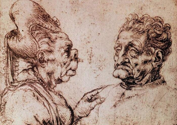 3.léonard de Vinci / carnet de dessins III